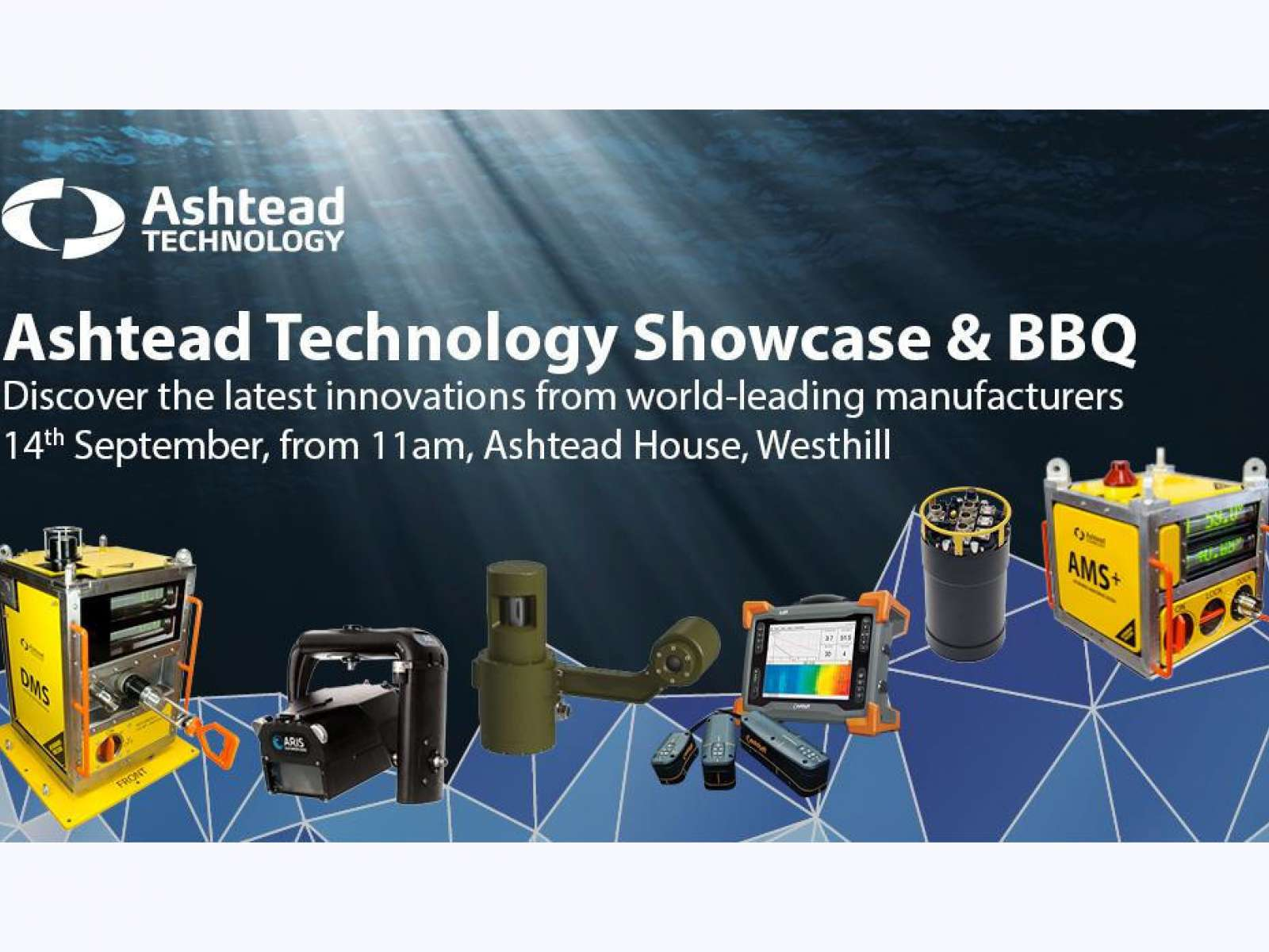 Ashtead Technology Showcase - 14th September