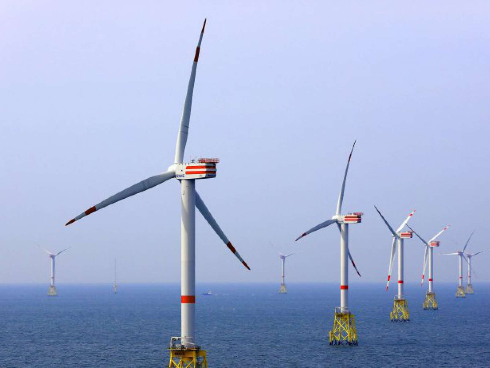 Nordsee Ost wind farm up and running with nCentric wireless solutions